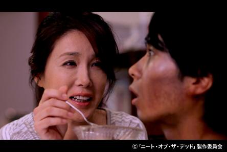 母の顔をしている筒井真理子さん